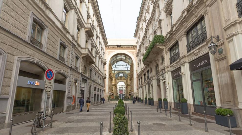COVID-19 удари тежко скъпите модни бутици в Милано (ВИДЕО)