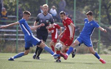 ЦСКА спечели дербито при 15-годишните