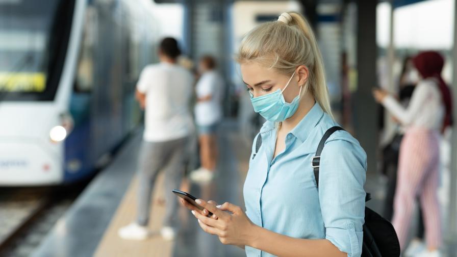 Засилват проверките за носене на маска в столичния градски транспорт