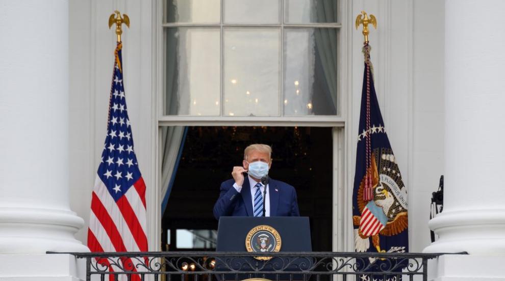 Тръмп може да напусне САЩ, ако загуби от Байдън