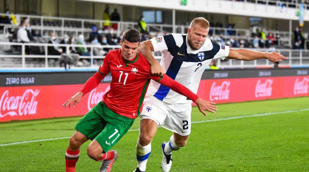 Финландия сгъна нашите 2:0 в Хелзинки, последни сме