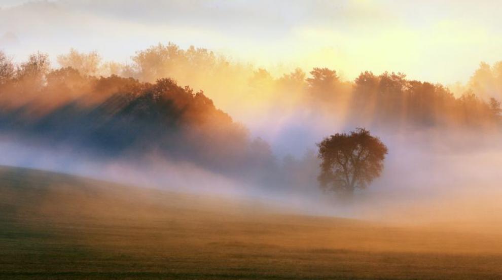Денят започва с мъгливо време