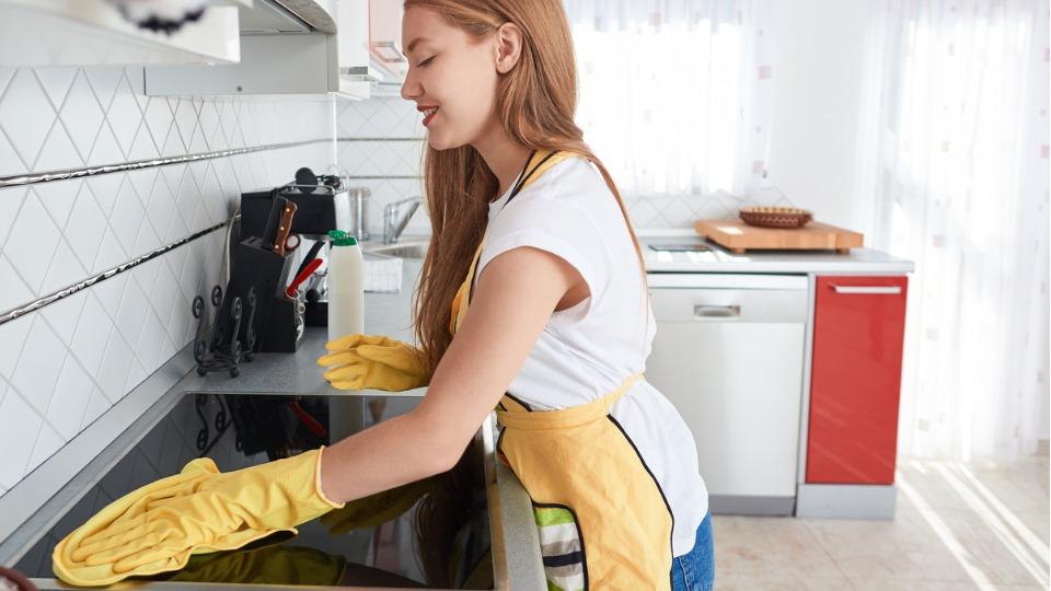 фурна печка кухн почистване чистене