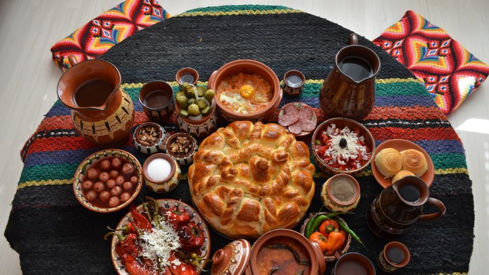 храна българска трапеза празник
