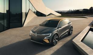 <p>Електрически Megane показва бъдещето на Renault</p>