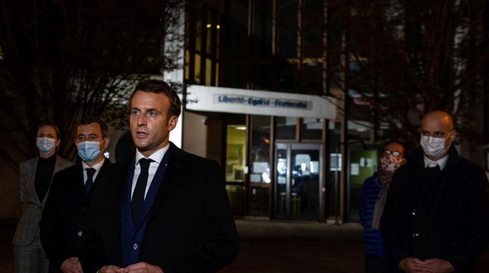 Запис: Убиецът на френския учител застрелян с 10...