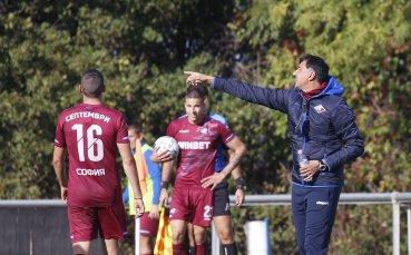 Христо Арангелов: Не съм доволен от играта, но показахме характер