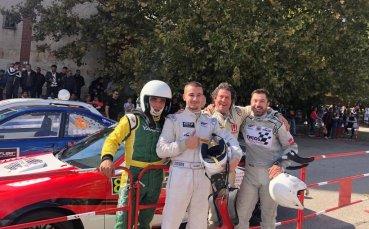 Иван Влъчков с победа на Писта Хасково
