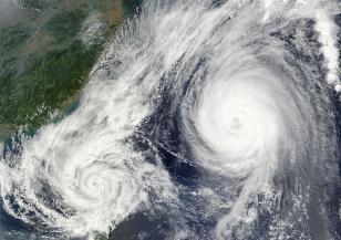 Тропическата буря Епсилон постави рекорд