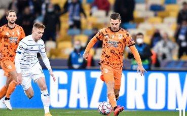 НА ЖИВО: Динамо Киев - Ювентус, без попадения на почивката