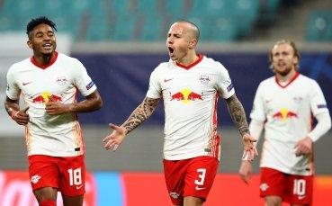 РБ Лайпциг се справи с турския шампион за четири минути