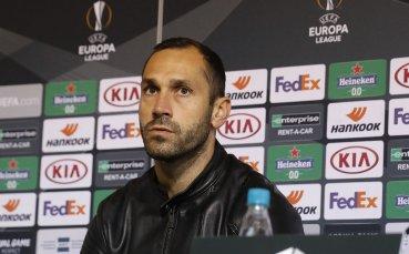 Капитанът на ЦСКА преди мача с Клуж: Няма напрежение, а нетърпение