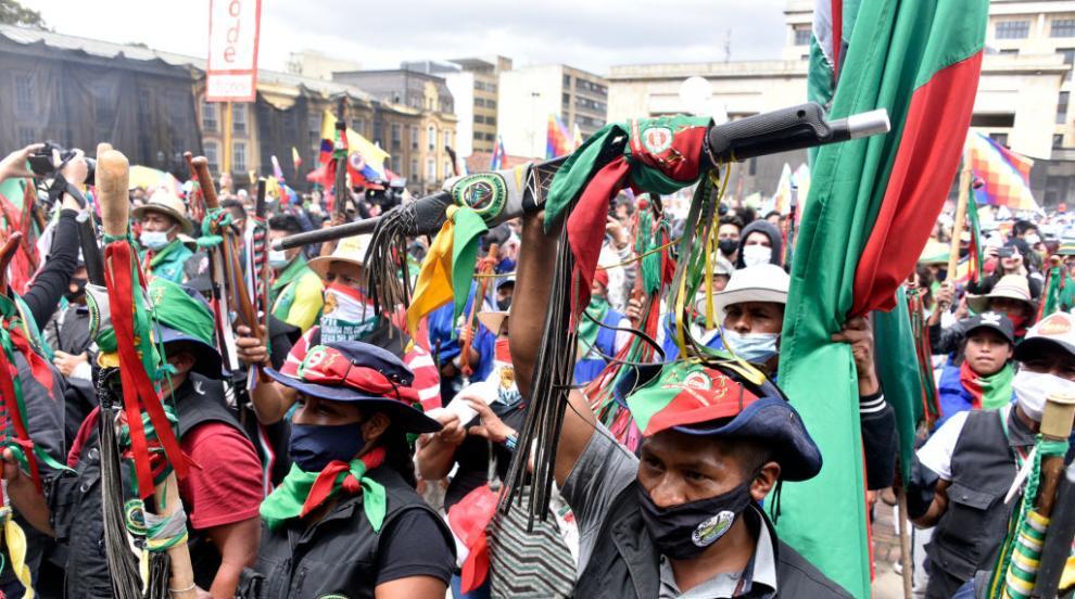 Хиляди участваха в протести в Колумбия