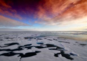 Рекордна загуба на морски лед в Арктика