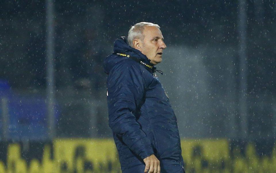 Старши треньорът на Монтана Никола Спасов беше доволен от представянето