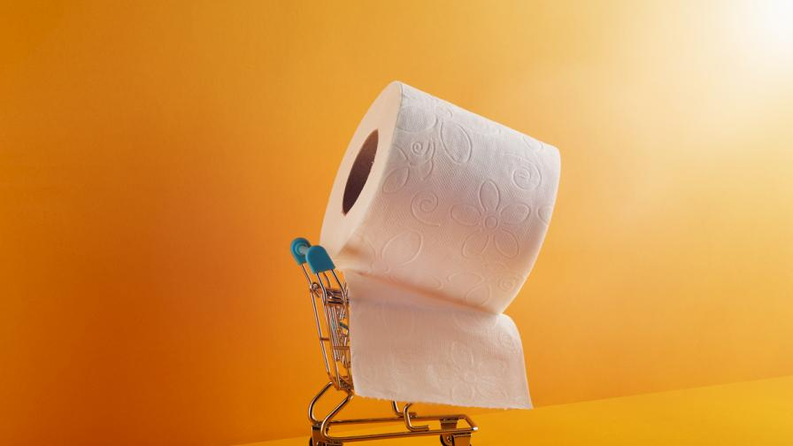 Пощенска марка върху тоалетна хартия дава ценни указания за COVID-19