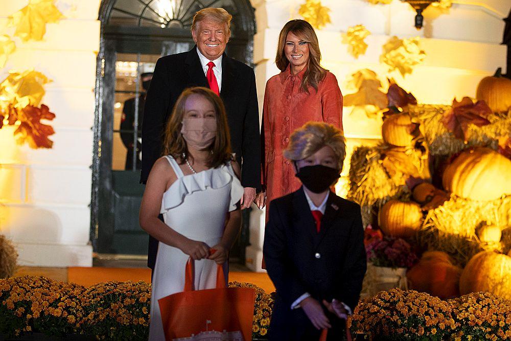 Доналд и Мелания Тръмп на Хелоуин