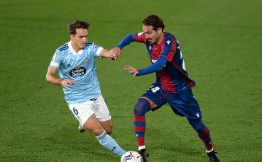 Леванте и Селта не излъчиха победител в битката на дъното в Ла Лига