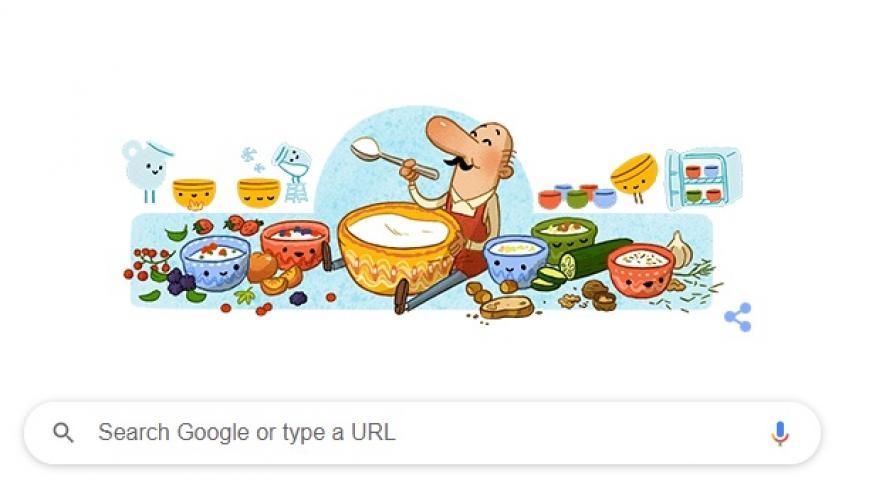 <p>Google отбелязва рождението на Стамен Григоров&nbsp;</p>