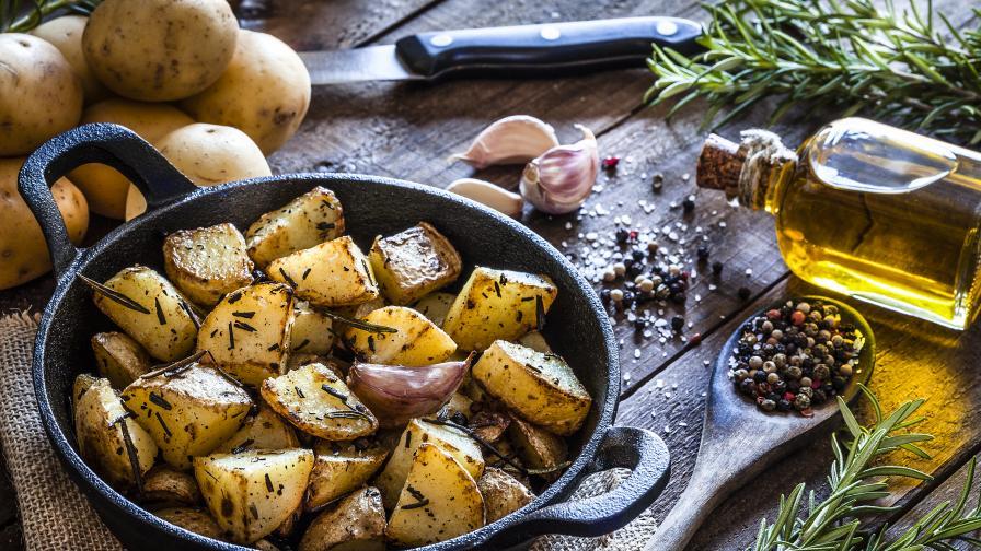 Вкусни пълнени картофи, как да си ги приготвим