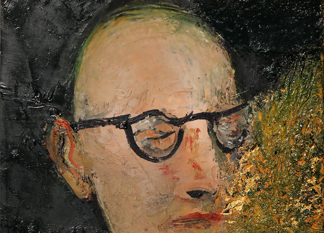<p>Портрет на Димитър Димов</p>