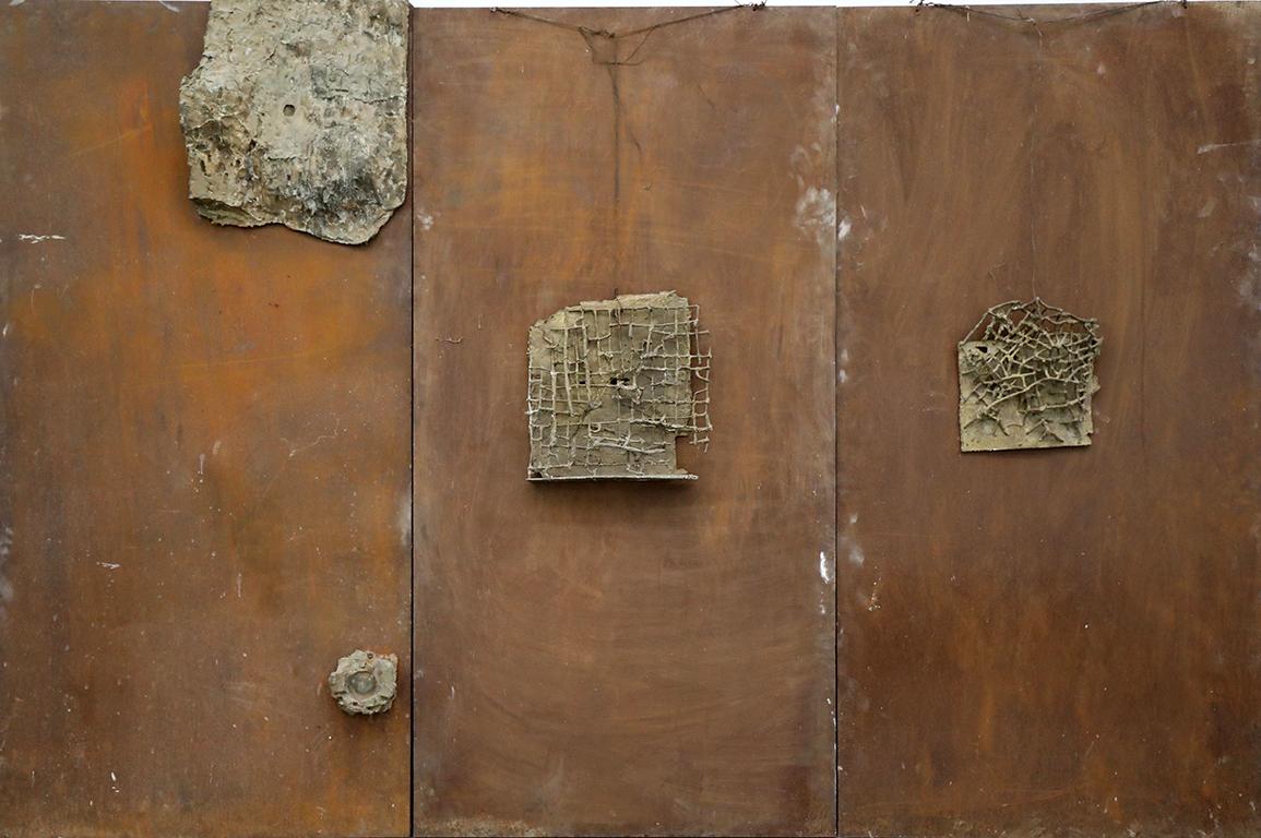 <p>Емил Попов, Метални картини - I, II и III 1989 - 1994 г.</p>