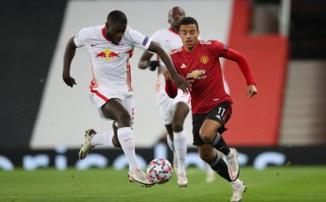 НА ЖИВО: Ман Юнайтед - РБ Лайпциг 1:0