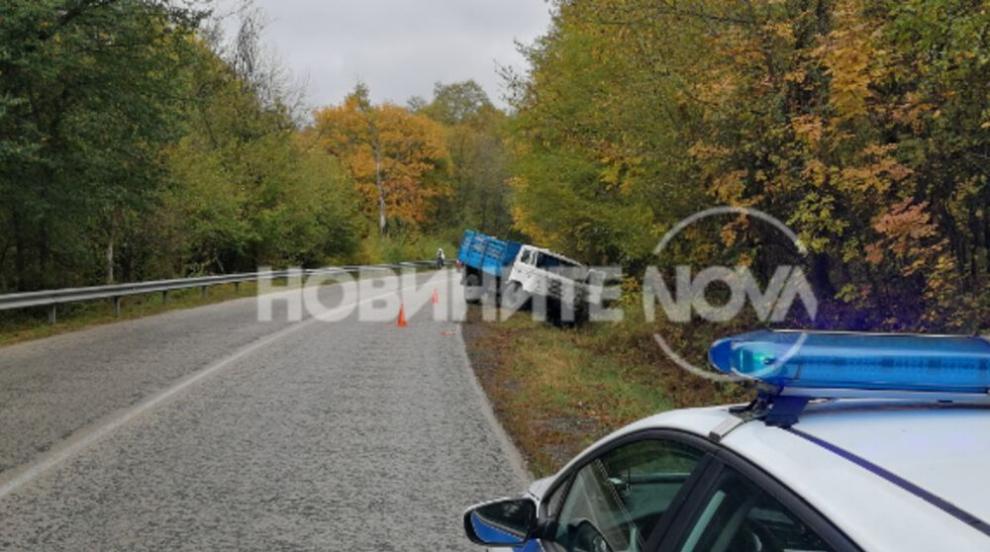 Камион катастрофира между Габрово и Велико Търново, шофьорът загина