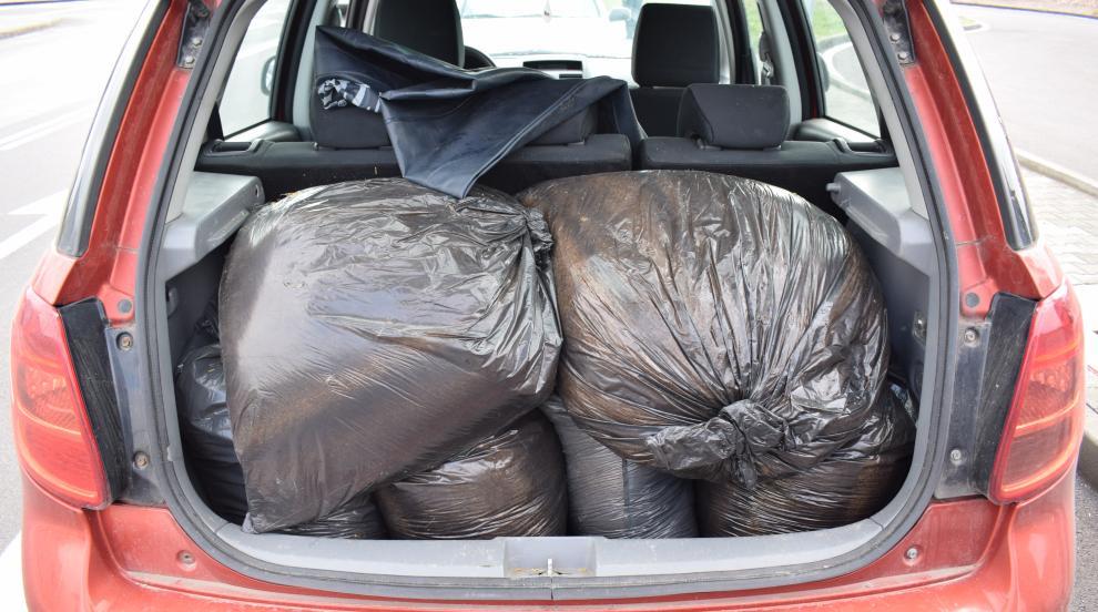 Откриха 60 килограма безакцизен тютюн в багажник на...