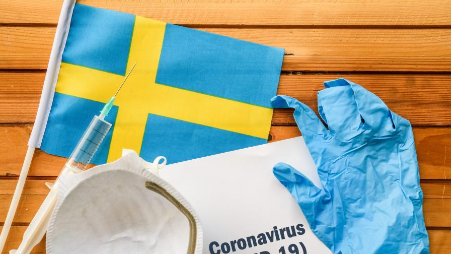 Експерт: Швеция първа ще приключи с пандемията