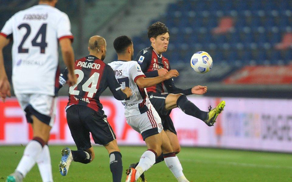 В двубой от 6-ия кръг на Серия А Болоня се