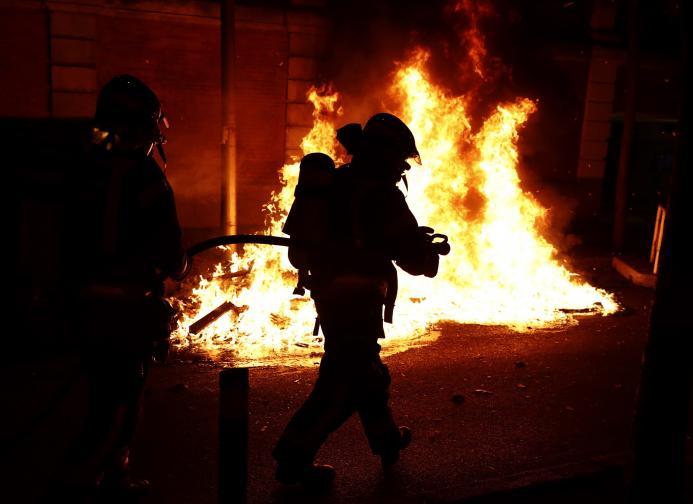 Испания протести