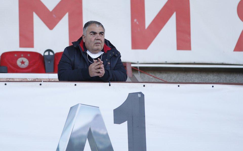 Изпълнителният директор на елитния Царско село Иво Андреевски опроверга пред