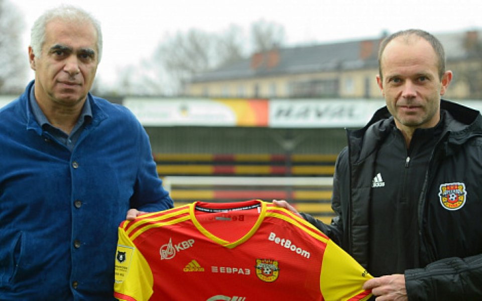 Георги Костадинов е с нов треньор в Арсенал Тула