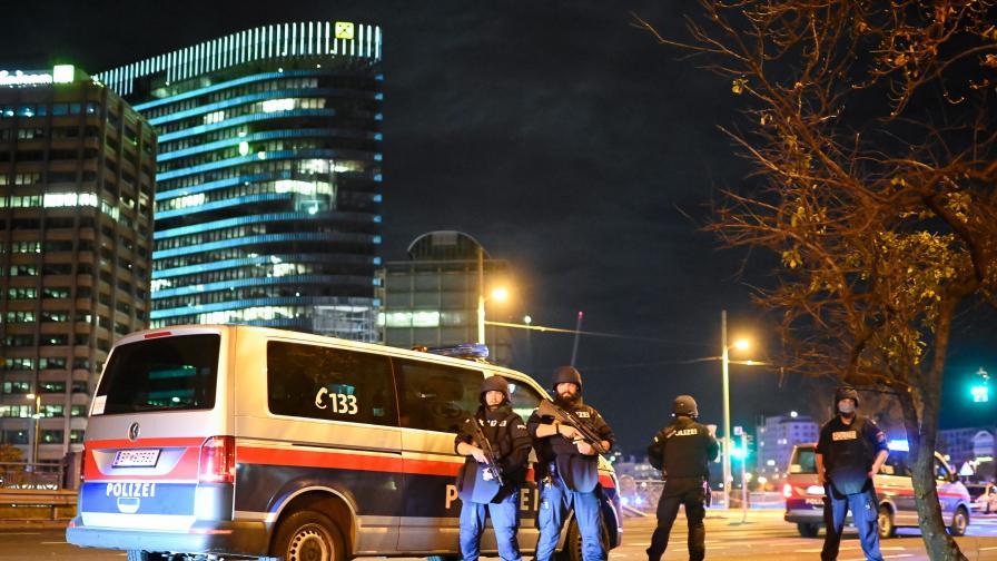 <p>Терор във Виена: &quot;Ислямска държава&quot; пое отговорност за нападението</p>