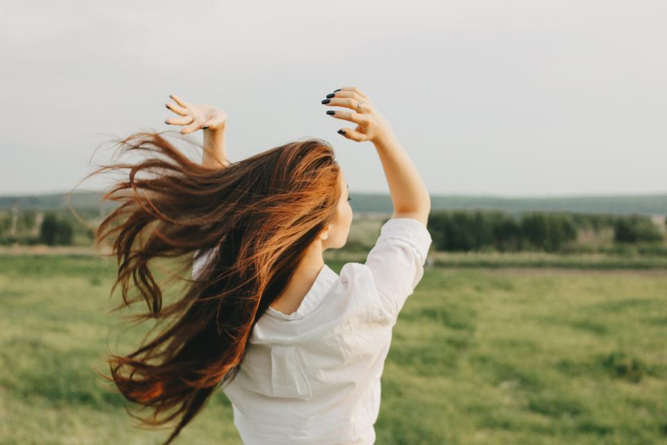 жена свобода щастие