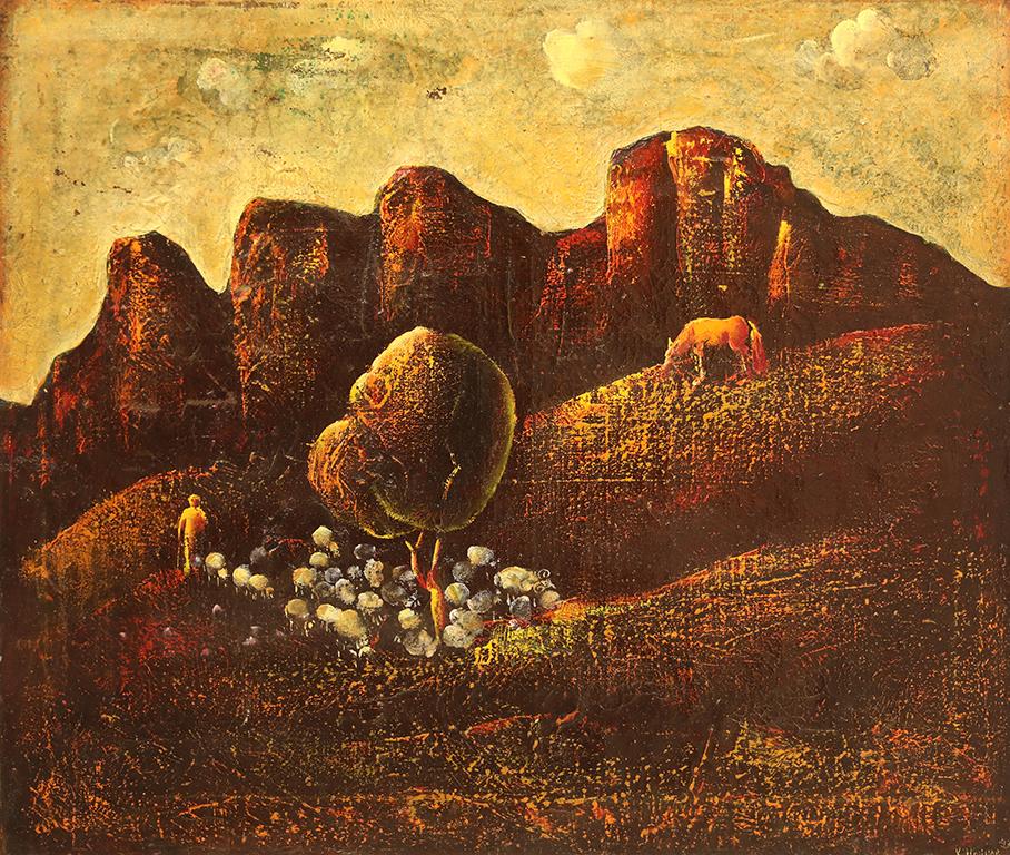 <p>Спомен от детството, 1978 г, маслени бои, платно</p>