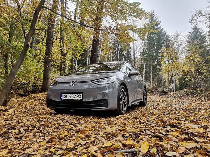 Volkswagen ID3 галерия