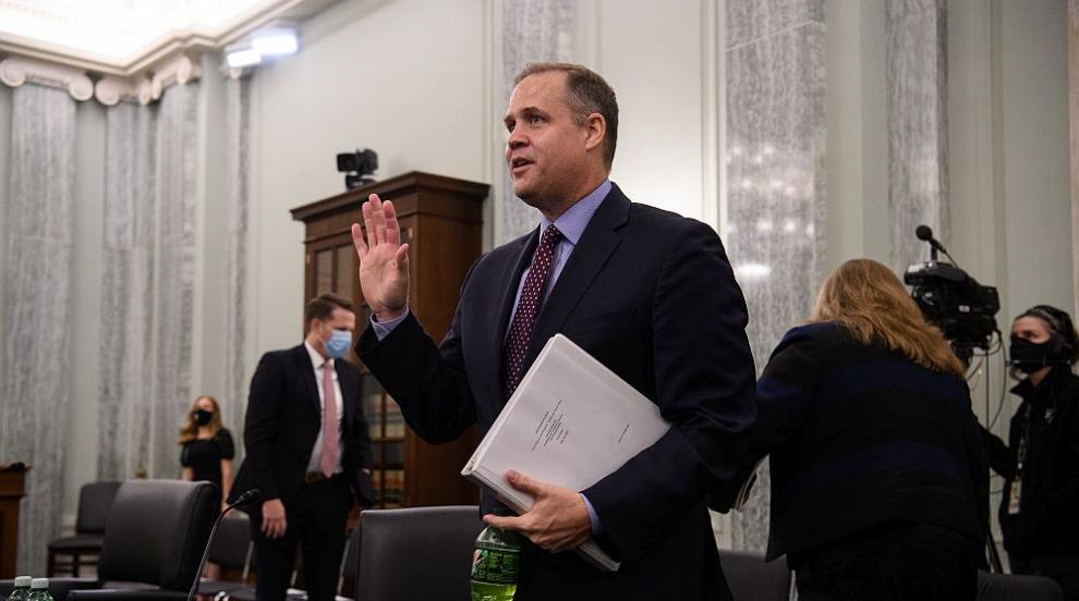 Директорът на НАСА хвърля оставка при победа на Байдън