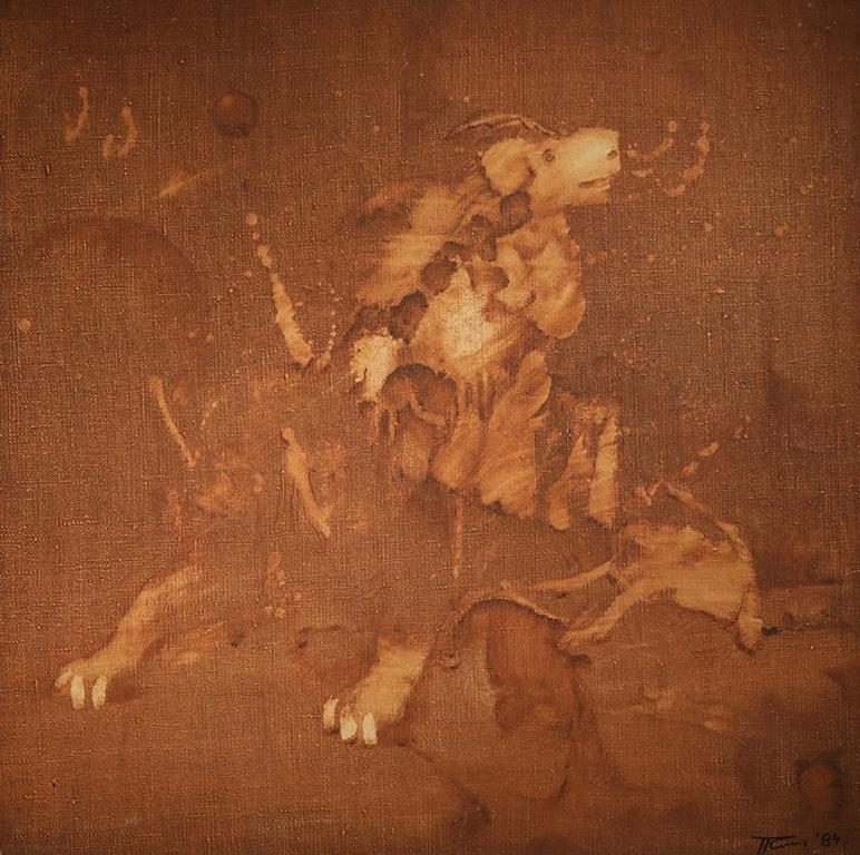 <p>&bdquo;Стените в стаята му са украсени с негови творби, рисувани с маслени бои, с тематика от бита на родното село - &bdquo;Завръщане на тютюноберачки&rdquo;, &bdquo;Пейзаж от село Искра&rdquo;, &bdquo;Портрет на момиче&rdquo;, &bdquo;Изглед от град Видин&rdquo;.</p>