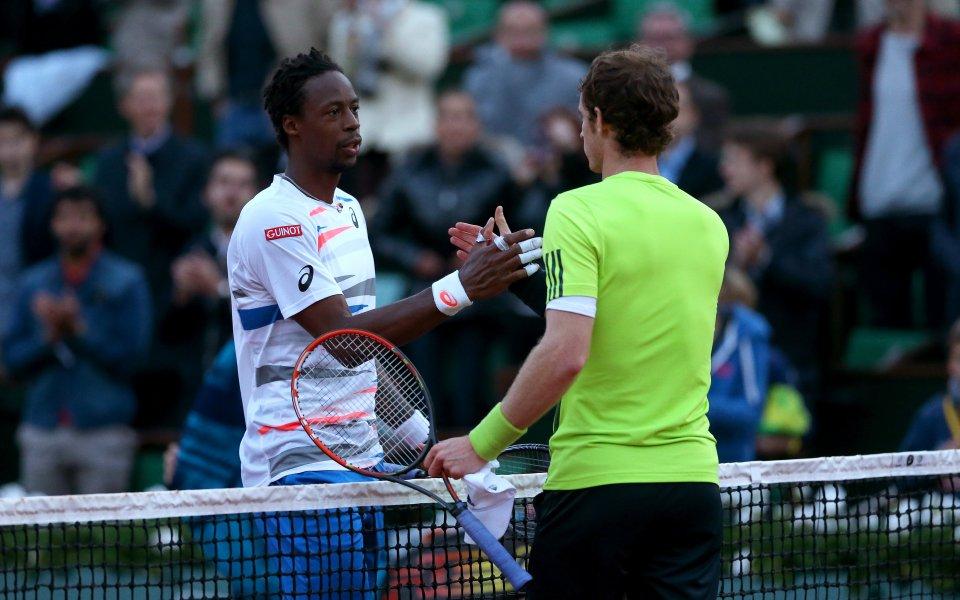 Гаел Монфис и Анди Мъри със собствено шоу на финалите на ATP