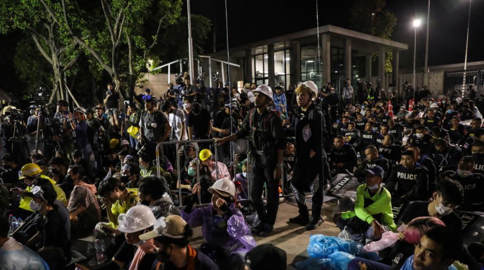 Най-малко 41 души бяха ранени при протести в Тайланд...