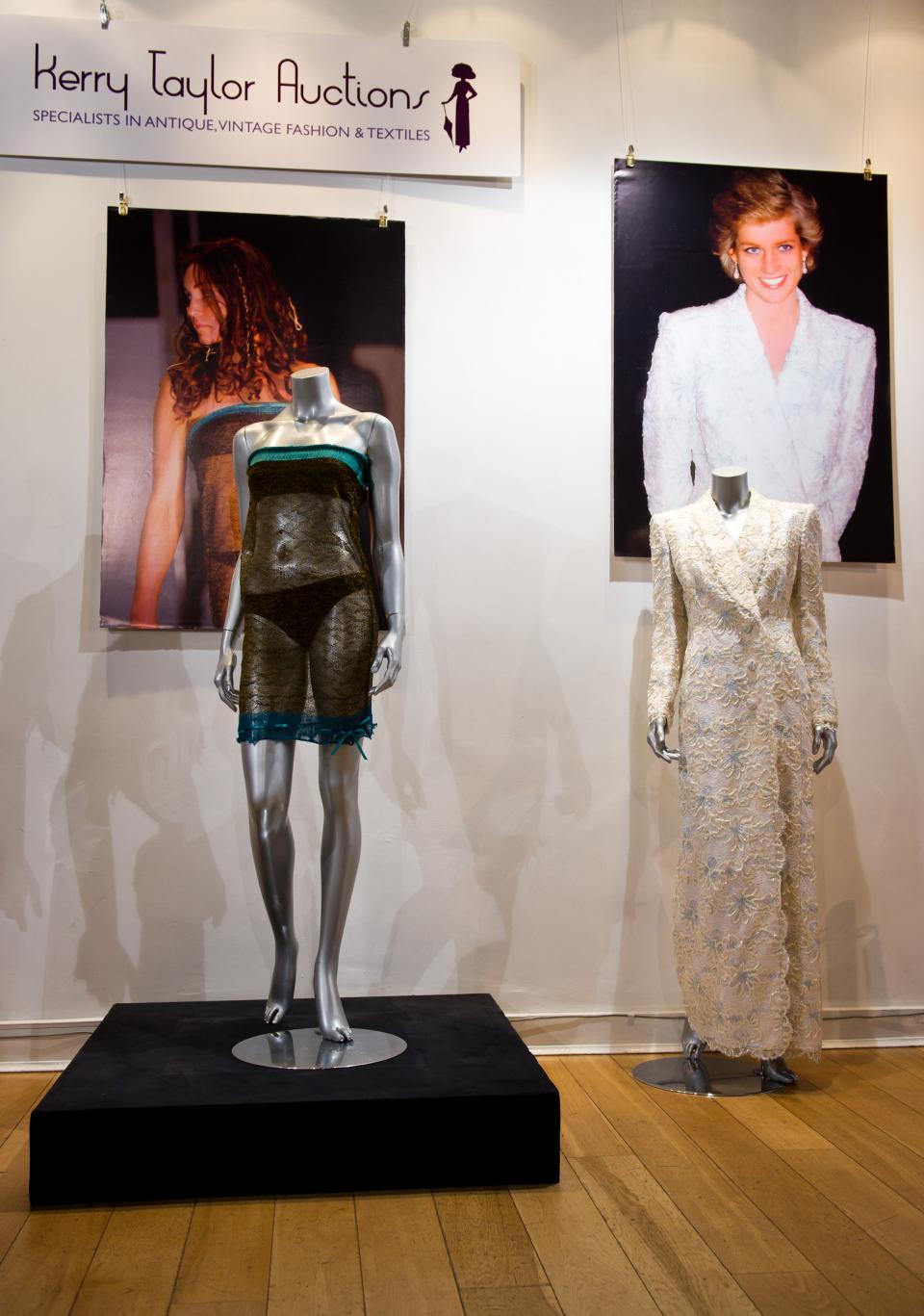 прозрачна рокля Кейт Мидълтън