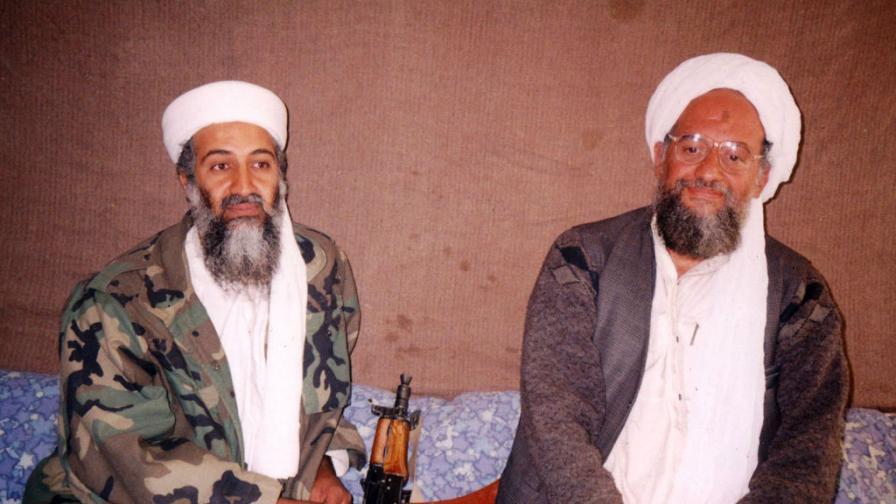 Осама бин Ладен и  Айман ал-Зауахири