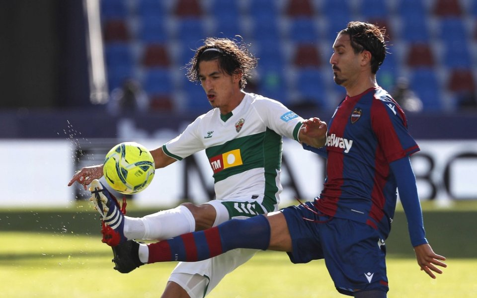 Леванте и Елче с голово реми в Ла Лига