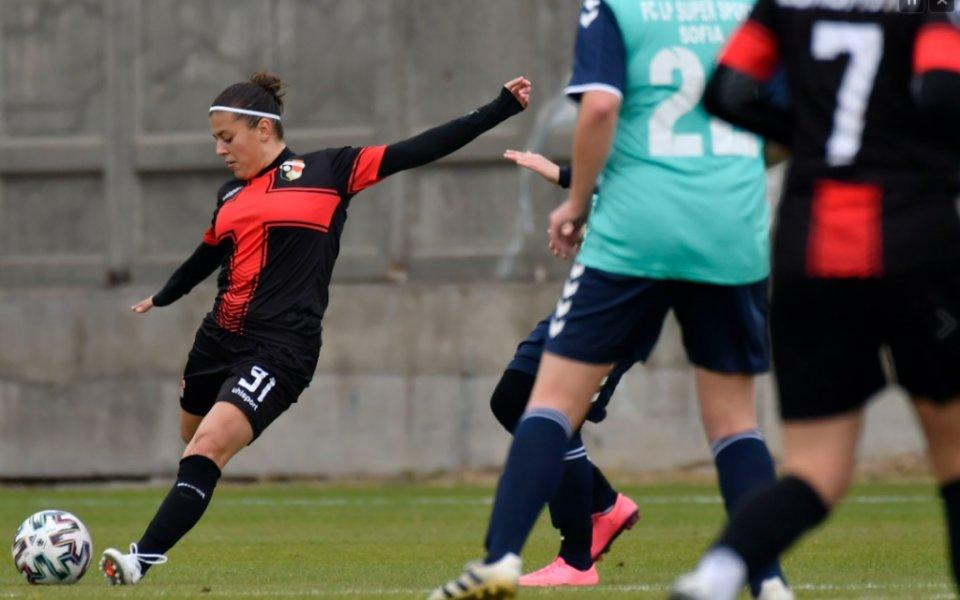 Жените на Локомотив Пловдив с класика срещу ЛП Суперспорт