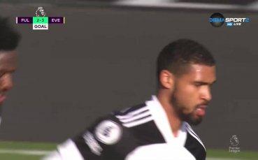 Фулъм отново се върна в мача след гол на Лофтъс-Чийк