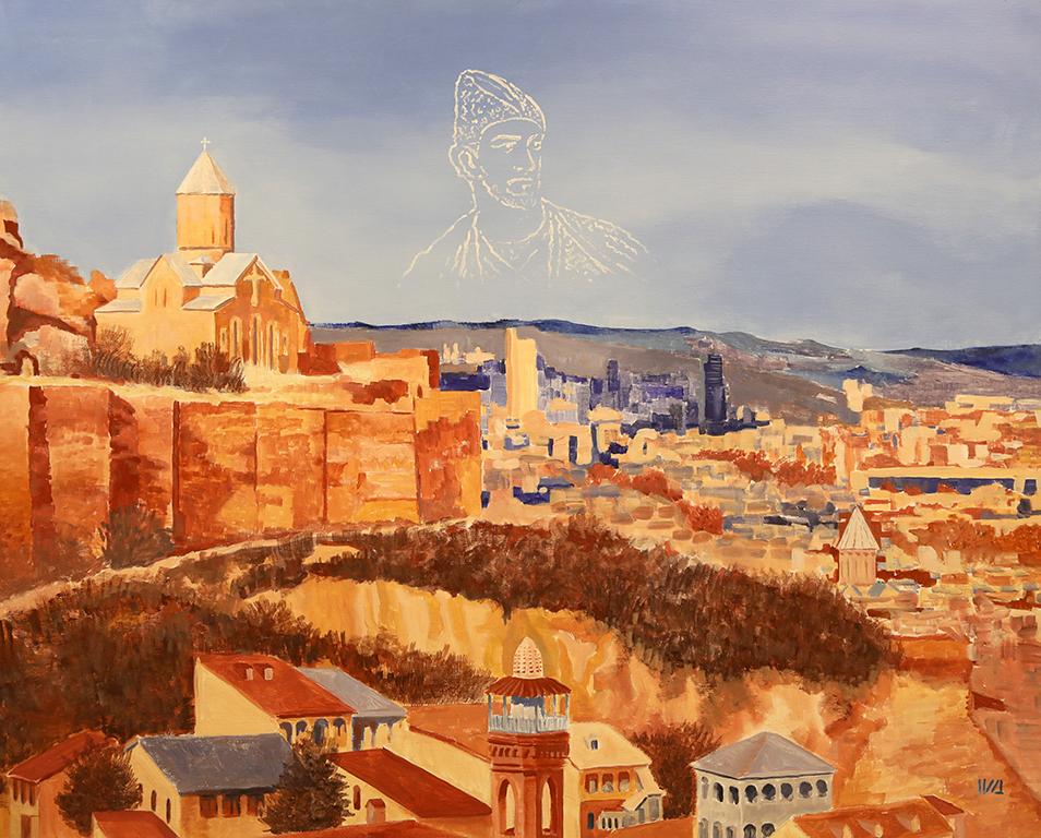 <p>Иванна Шмелева, &bdquo;Изглед към Тбилиси, Грузия&rdquo;</p>