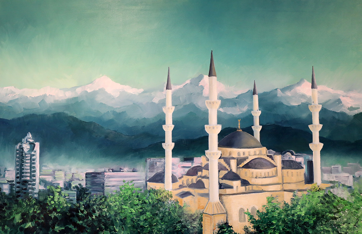 <p>Роман Гуманюк, &bdquo;Джамия в Бишкек, Киргизия&rdquo;</p>