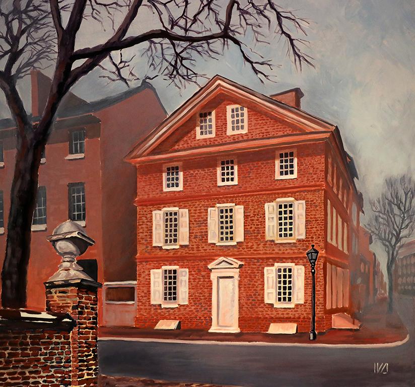 <p>Иванна Шмелева, &bdquo;Къщата на Тадеуш Косцюшко във Филаделфия, САЩ&rdquo;</p>